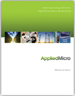 Applied Micro Annual Report