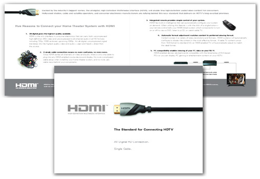 HDMI Brochure Design by Christine Arthur