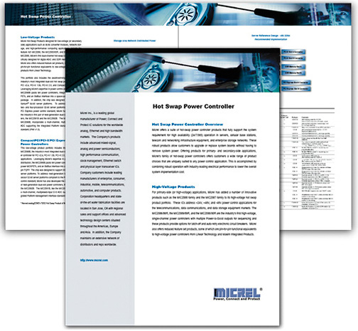 Micrel Technology Datasheet Design
